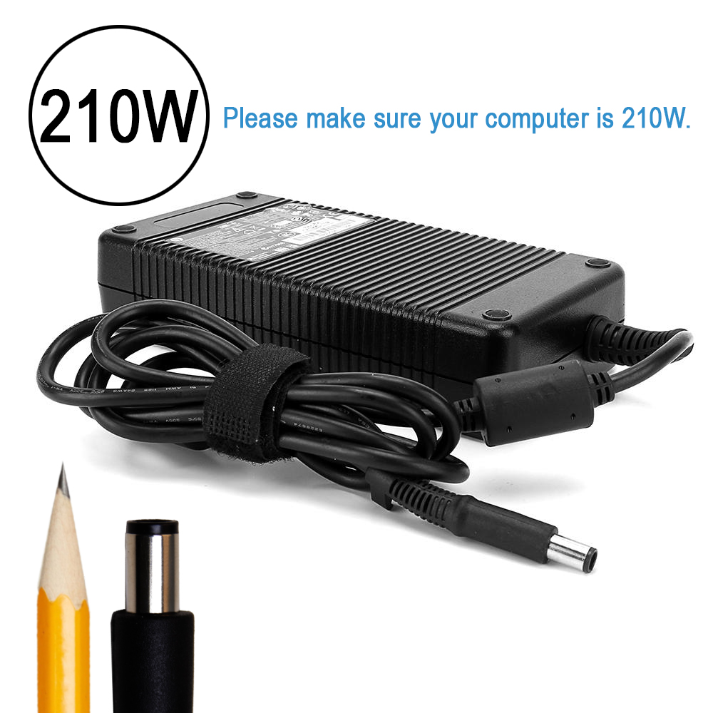 Replaces PA-7E Ac Adapter Charger Cord For Dell Precision M6400 M6500 Laptops